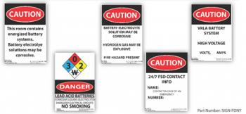 FDNY Safety Sign Kit