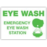 Sign - Eyewash