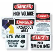 Deluxe Battery Room Sign Kit