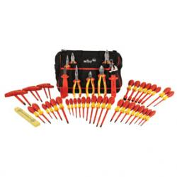 Insulated Electrician's Pro Tool Kit