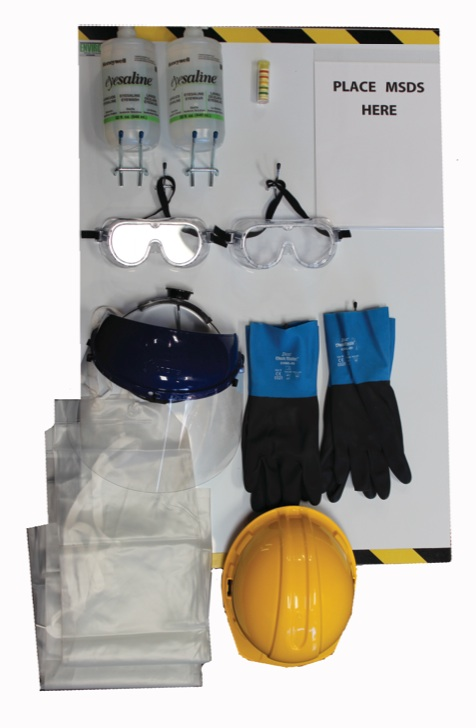 Personal Protective Equipment Station
