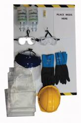 Deluxe Personal Protective Equipment Station